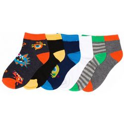 Trimfit Boys 6-pk. Fun Monsters Socks