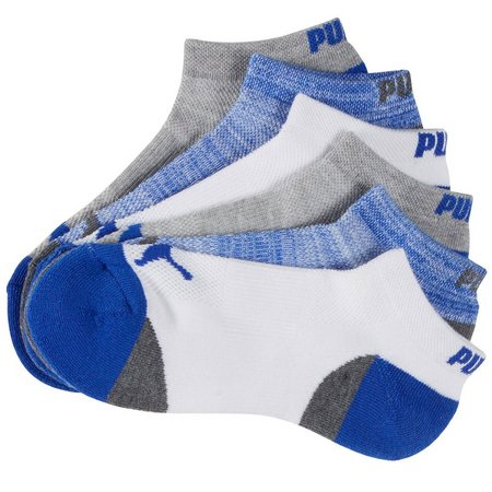 Puma Boys 6-pk. Arch Support Low Cut Socks