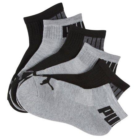 New! Puma Boys 6-pk. Cushioned Quarter Socks