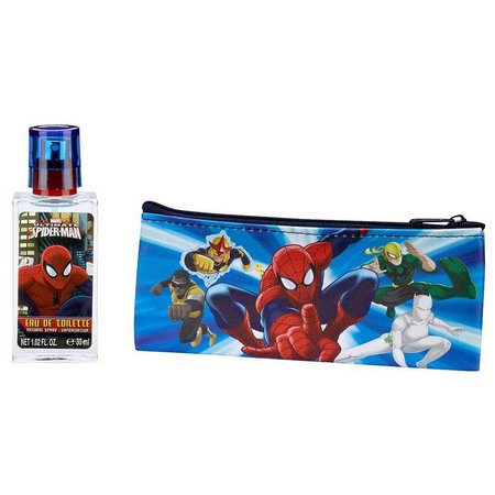 New! Marvel Spider-Man Boys Travel Case & Cologne