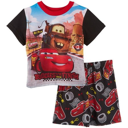 Disney Cars Toddler Boys Buddies Pajama Set