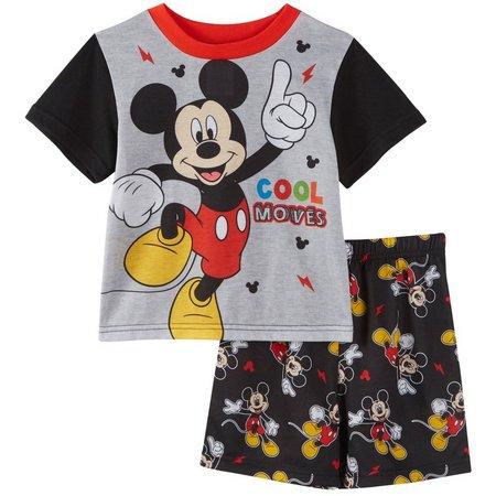Disney Mickey Mouse Toddler Boys Cool Pajama Set