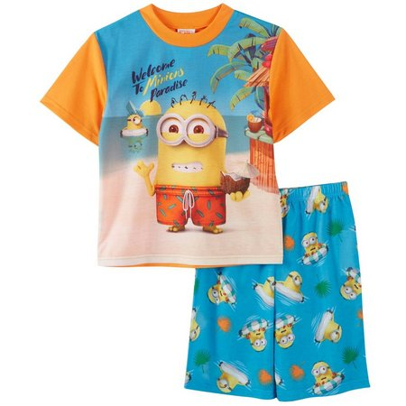 Despicable Me Big Boys Paradise Pajama Set