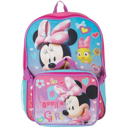 Disney Minnie Mouse Lunch Pack & Backpack