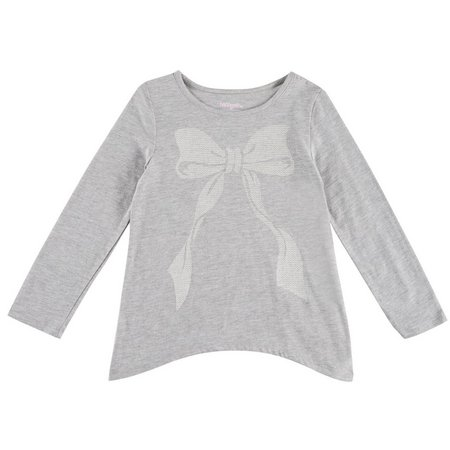 Kidtopia Little Girls Mix Match Bow Top