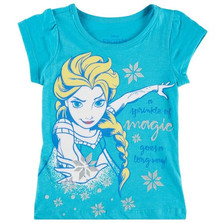 Disney Frozen Little Girls Sprinkle Of Magic T-Shirt