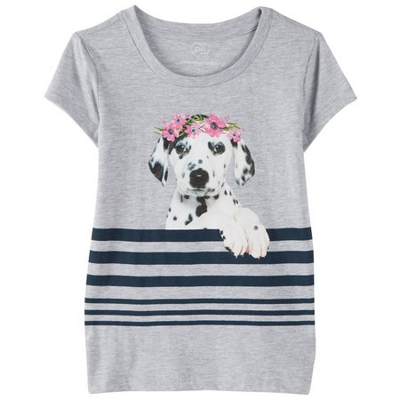 PS From Aeropostale Little Girls Puppy T-Shirt