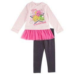 Shopkins Little Girls Love Lace Leggings Set