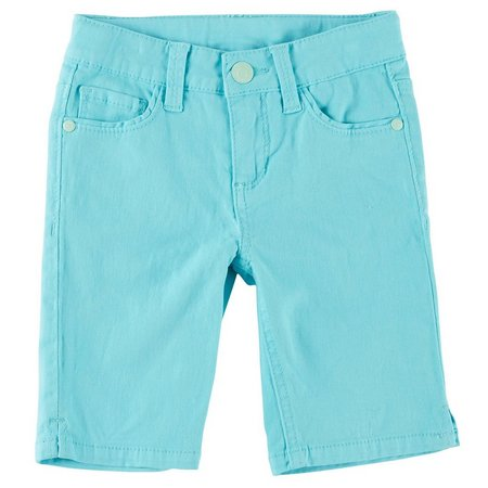 Celebrity Pink Little Girls Twill Bermuda Shorts