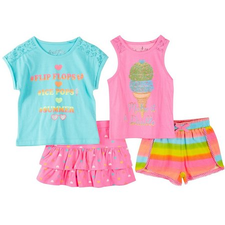 Freestyle Little Girls 4-pk. Summer Fun Set