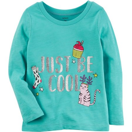 Carters Little Girls Just Be Cool T-Shirt