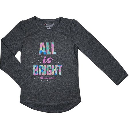 Champion Little Girls All Is Bright T-Shirt