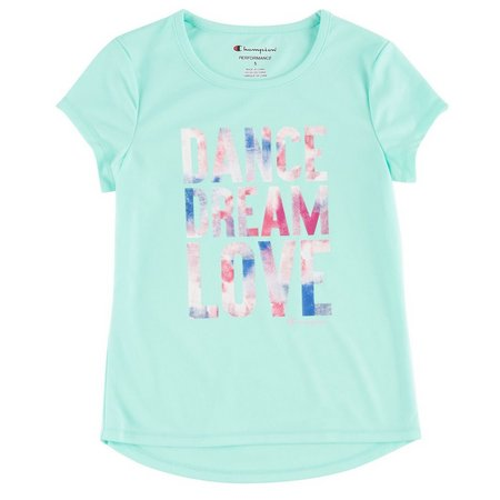 Champion Little Girls Dance Dream Love T-Shirt