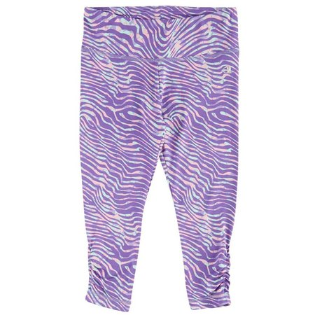 Champion Little Girls Swirl Capri Leggings