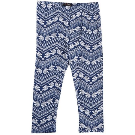 Derek Heart Girl Big Girls Elephant Chevron Capris