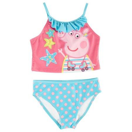 Nickelodeon Peppa Pig Little Girls Swimsuit
