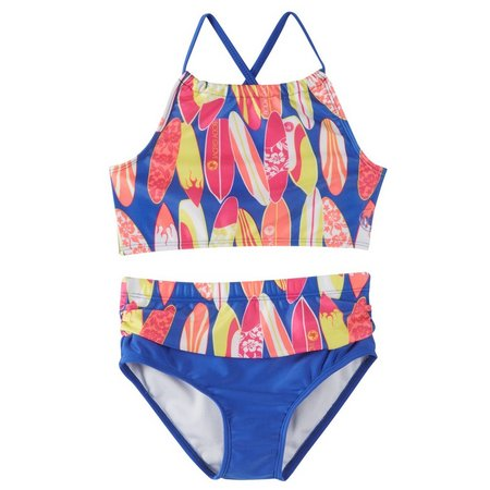 Body Glove Big Girls Surfboard Tankini Swimsuit