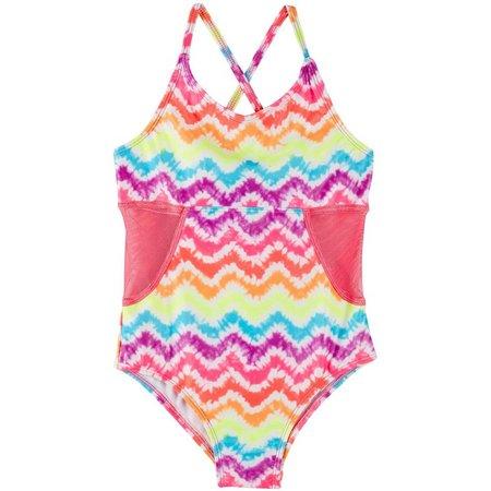 Body Glove Little Girls Tie Dye Swimsuit