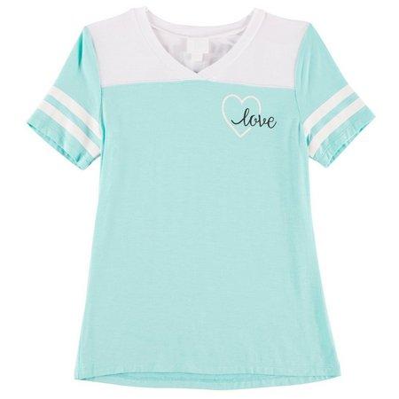 Miss Chievous Big Girls Love T-Shirt