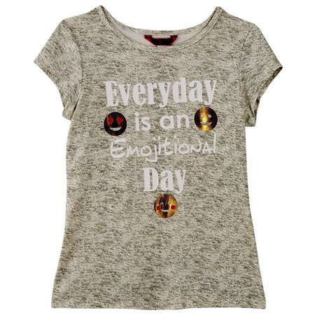 New! 1st Kiss Big Girls Emojitional Day T-Shirt