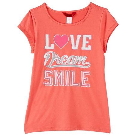 1st Kiss Big Girls Love Dream Smile T-Shirt