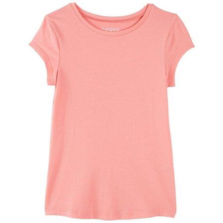 Derek Heart Girl Big Girls Solid T-Shirt