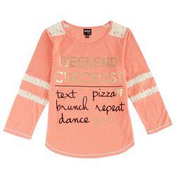 Ransom Girl Big Girls Weekend Checklist T-Shirt