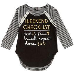 Ransom Girl Big Girls Weekend Checklist Top