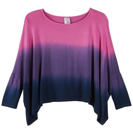 Erge Big Girls Dip Dye Dolman Top