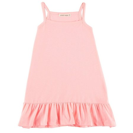 Exist Kids Little Girls Solid Tank Dress