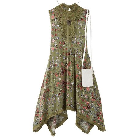 Beautees Big Girls Floral Lace Dress