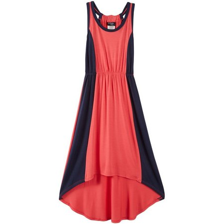 2 Hip Big Girls Colorblock Maxi Dress