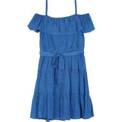 Amy Byer Big Girls Gauze Dress