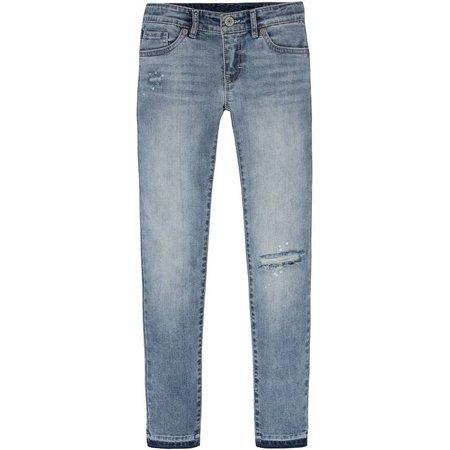 Levi's Big Girls Skinny Ankle Jeans
