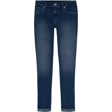 Levi's Big Girls Frayed Skinny Ankle Jeans