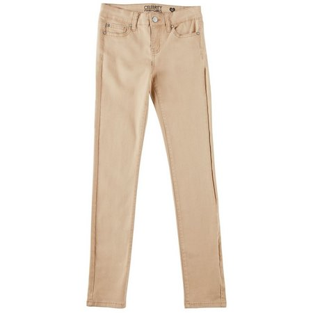Celebrity Pink Big Girls Solid Casual Pants