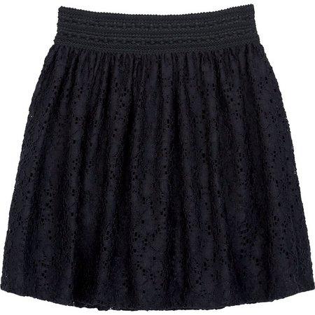Amy Byer Big Girls Lace Skater Skirt