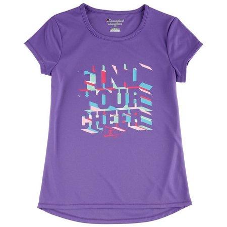 Champion Big Girls Your Cheer T-Shirt