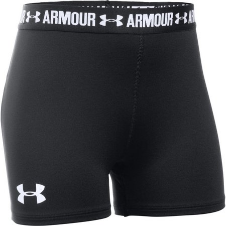 Under Armour Big Girls Armour Shorty Shorts