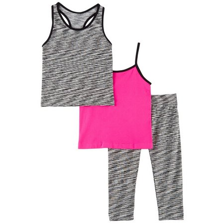Body Glove Big Girls 3-pc. Active Tank Top
