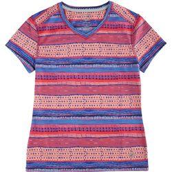 Reel Legends Big Girls Freeline Clover T-Shirt