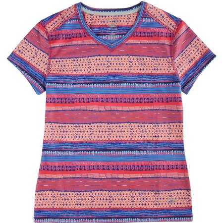 Reel Legends Little Girls Freeline Clover T-Shirt