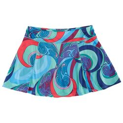 Reel Legends Big Girls Freeline Psychedelic Skort