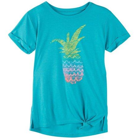 Reel Legends Big Girls Pineapple T-Shirt