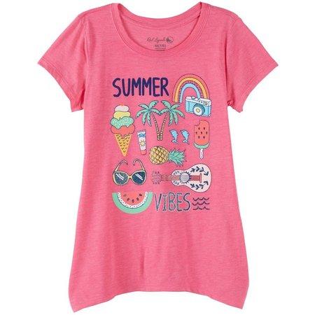 Reel Legends Big Girls Summer Vibes T-Shirt