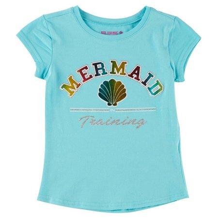Reel Legends Little Girls Mermaid In Training T-Shirt