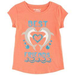 Reel Legends Little Girls Best Friends T-Shirt