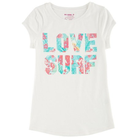Reel Legends Big Girls Love Surf T-Shirt