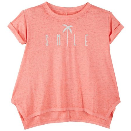 Reel Legends Big Girls Smile T-Shirt