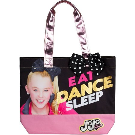 Nickelodeon JoJo Girls Eat Dance Sleep Tote Bag